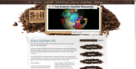 This is the home page for the webpage I work with for the K-12 Committee.