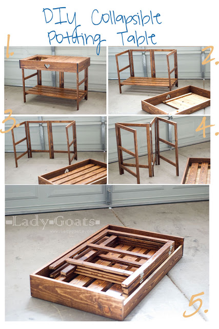 This Is The Foldable Table I Am Basing The Butcher Station On.